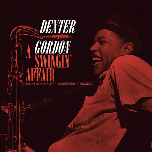 Dexter Gordon - A Swingin' Affair (Import LP)
