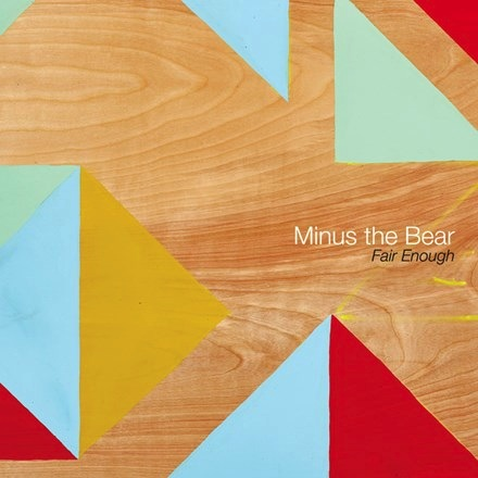 "Minus The Bear - Fair Enough (Indie Only Coke Bottle Green Vinyl 12""EP)"