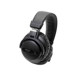 Audio-Technica - ATH-PRO5XBK Professional Over-Ear DJ Monitor Headphones (Black)
