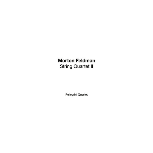 Morton Feldman - String Quartet II (6LP Box)