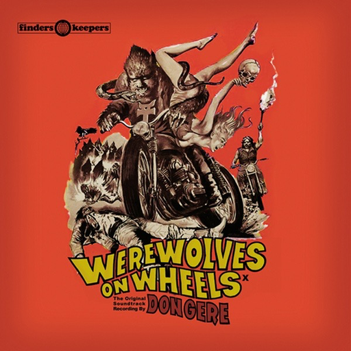 Don Gere - Werewolves On Wheels (Import LP)