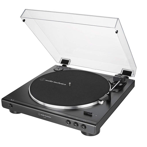Audio-Technica - AT-LP60X - Fully Automatic Belt-Drive Turntable (Black)