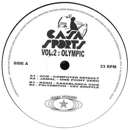 "Various Artists - Casa Sports Vol. 2 (12"")"