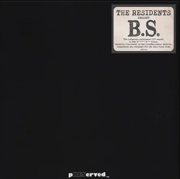 The Residents - B*** S** (LP)