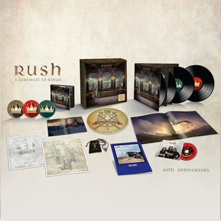 Rush - A Farewell To Kings (40th Anniversary Deluxe Edition Box-Set)