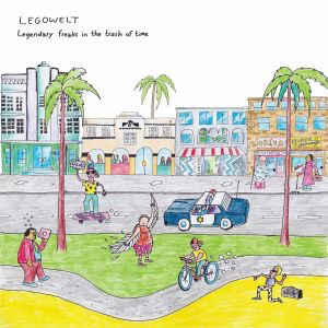 Legowelt - Legendary Freaks In the Trash Of Time (2LP)
