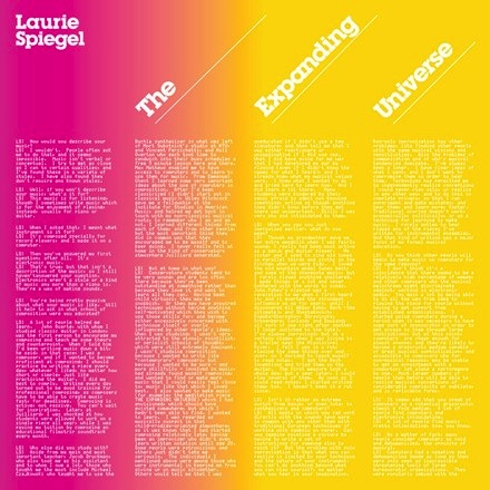 Laurie Spiegel - The Expanding Universe (3LP)