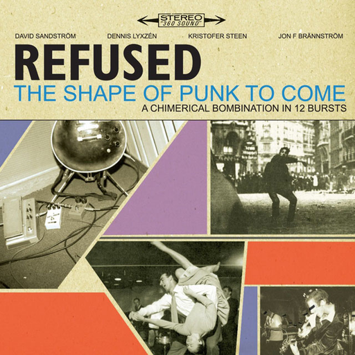 Refused - The Shape Of Punk To Come (Deluxe Edition 2LP + DVD)