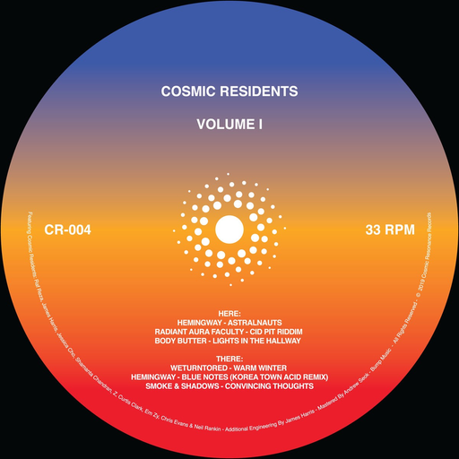 "Various Artists - Cosmic Residents (12"")"