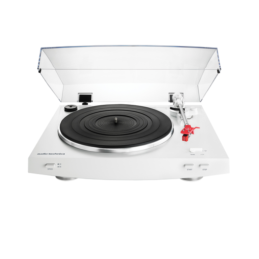 Audio-Technica - AT-LP3 Fully Automatic Belt-Drive Turntable (White)