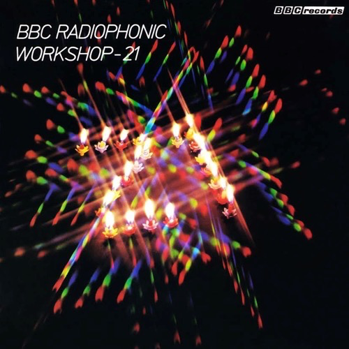 The BBC Radiophonic Workshop - The Radiophonic Workshop (Blue LP)