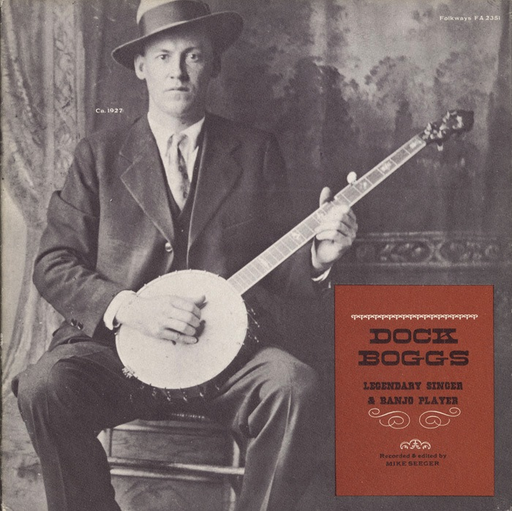Dock	Boggs - Legendary Singer & Banjo Player (LP)
