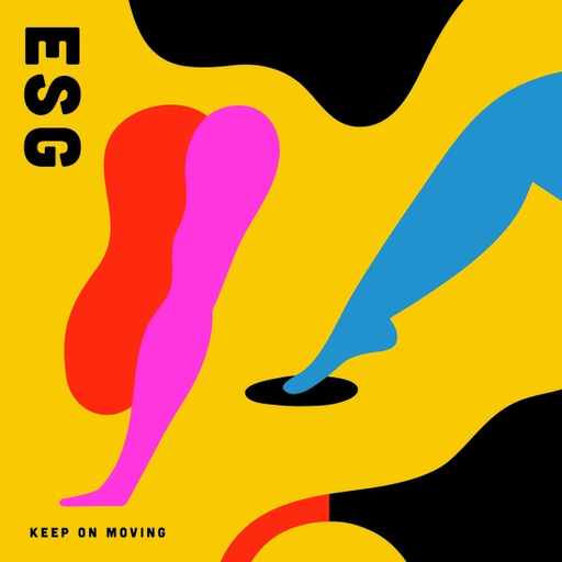 ESG - Keep On Moving (Colored LP)
