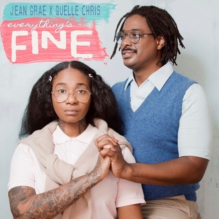 Jean Grae and Quelle Chris - Everything's Fine (2LP)