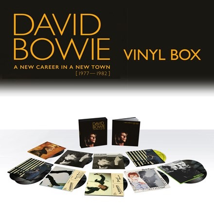 David Bowie - A New Career In A New Town: 1977-1982 (180g 13LP Box Set)