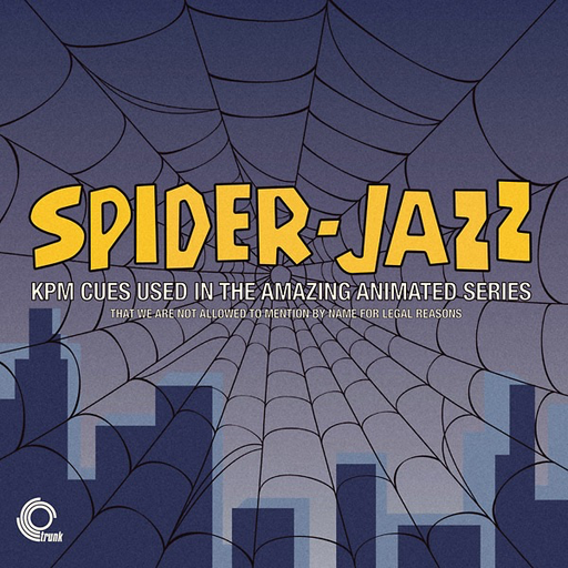 Various Artists - Spider-Jazz: KPM Cues Used In The Amazing Animated Series (Import LP)