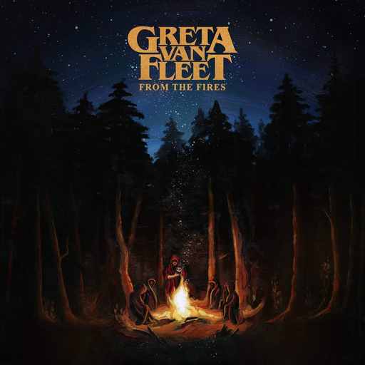 Greta Van Fleet - From The Fires (Colour LP)