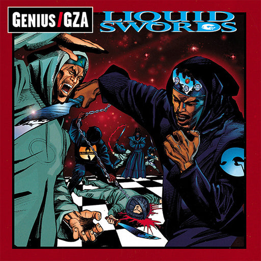 Genius & GZA - Liquid Swords (180g Sea Glass 2LP)