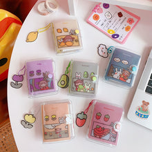 Load image into Gallery viewer, Kawaii Mini Loose-leaf Notebook Stationery