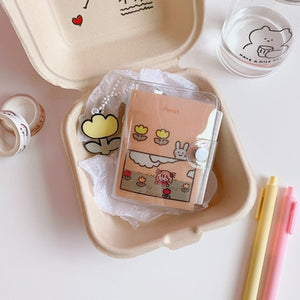 Kawaii Mini Loose-leaf Notebook Stationery
