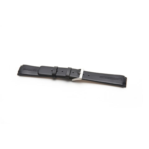 Skagen Black Leather Replacement Watch Strap 433LSLC
