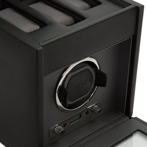 Image of Wolf 1834 Viceroy Viceroy Single Watch Winder with Storage 456102