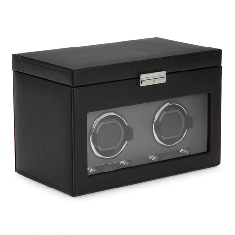 Image of Wolf 1834 Viceroy Viceroy Double Watch Winder with Storage 456202