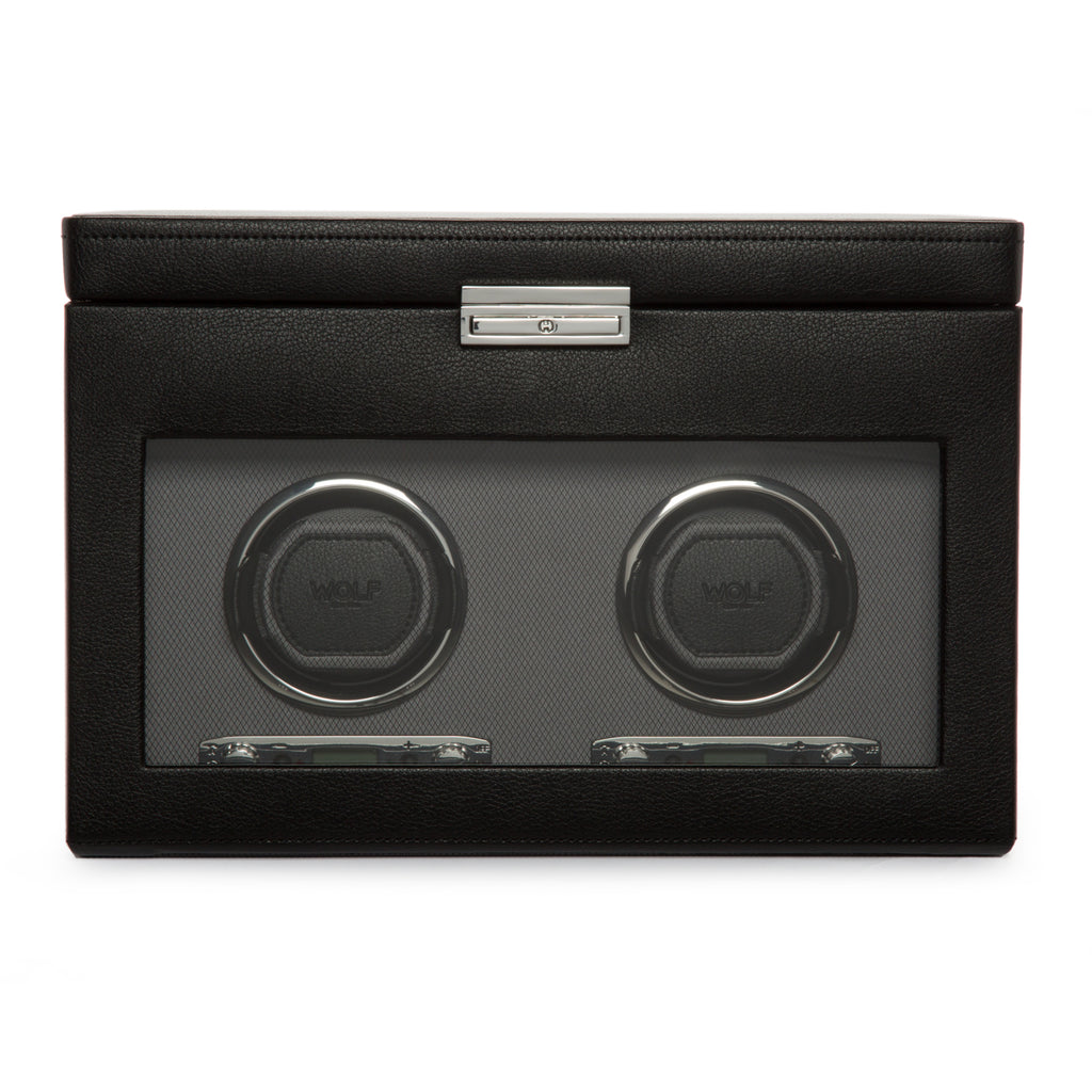 Wolf 1834 Viceroy Viceroy Double Watch Winder with Storage 456202