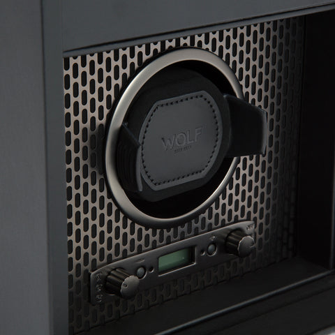 Image of Wolf 1834 Axis Watch Winder Axis Single Winder with Storage 469203