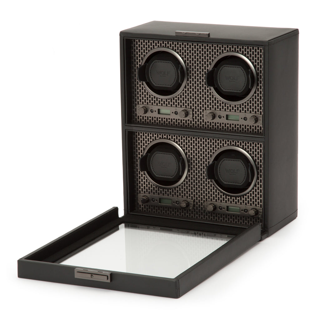 Wolf 1834 Axis Watch Winder Axis 4 Piece Winder 469503