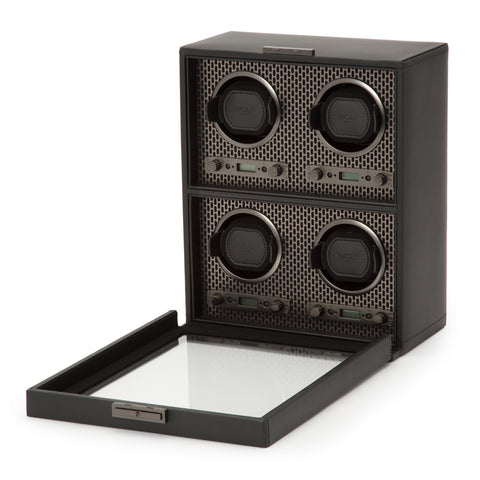 Image of Wolf 1834 Axis Watch Winder Axis 4 Piece Winder 469503