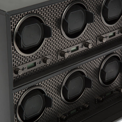 Image of Wolf 1834 Axis Watch Winder Axis 6 Piece Winder 469603