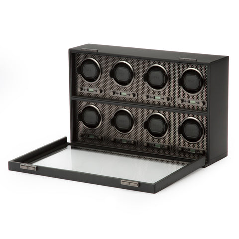 Image of Wolf 1834 Axis Watch Winder Axis 8 Piece Winder 469703