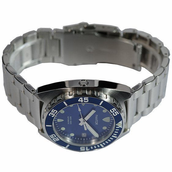 Pantor Sea lion Blue-Stainless steel
