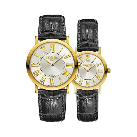 Roamer Partner Set 9348564811SE Ladies Watch Mens Watch