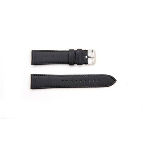 Emporio Armani Replacement Black Leather Watch Strap AR1694