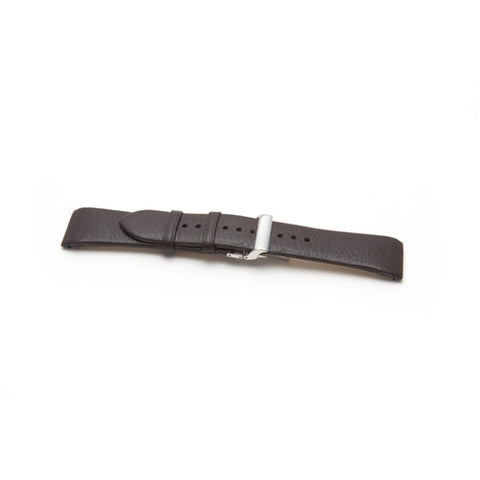 Emporio Armani Replacement Black Leather Watch Strap AR2032