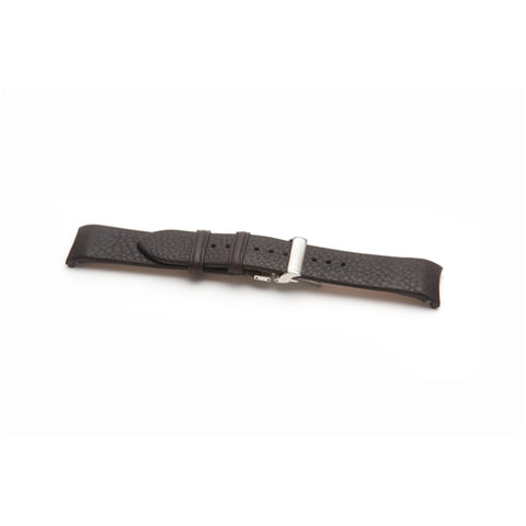 Emporio Armani Replacement Black Leather Watch Strap AR2041
