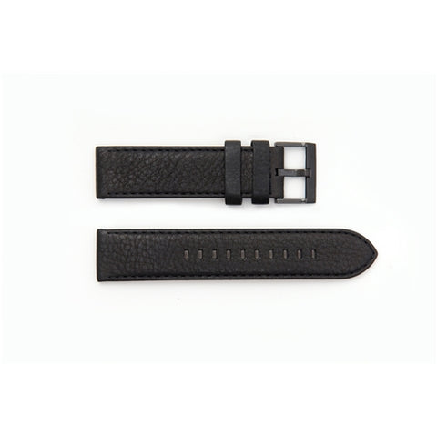 Armani Exchange Replacement Black Leather Watch Strap AX2098