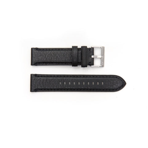 Armani Exchange Replacement Black Leather Watch Strap AX2101