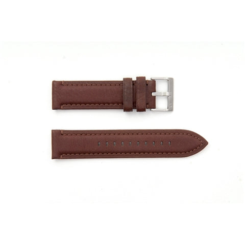 Armani Exchange Replacement Brown Leather Watch Strap AX2133