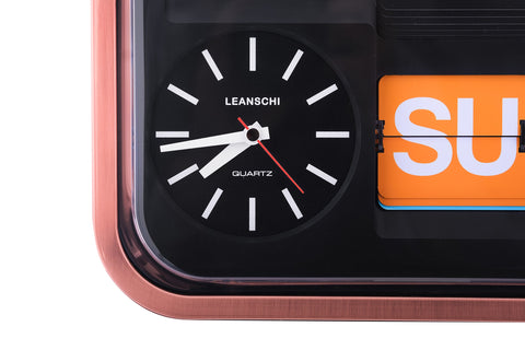 Leanschi Copper Clock CLOK-AC02