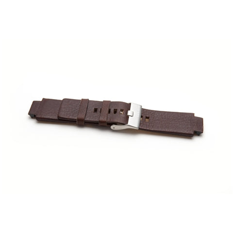 Diesel Replacement Brown Leather Watch Strap DZ1123