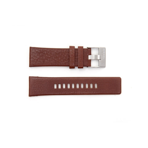 Diesel Replacement Brown Leather Watch Strap DZ1206