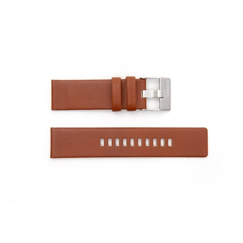 Diesel Replacement Brown Leather Watch Strap DZ1513