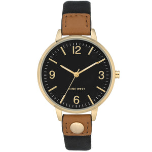 Nine West Watch NW/2114BKBK