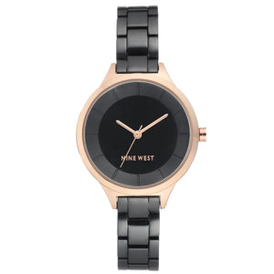 Nine West Watch NW/2225BKRT