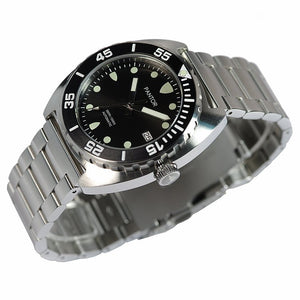Pantor Sea Lion Black Dial Stainless Steel Professional Dive Watch