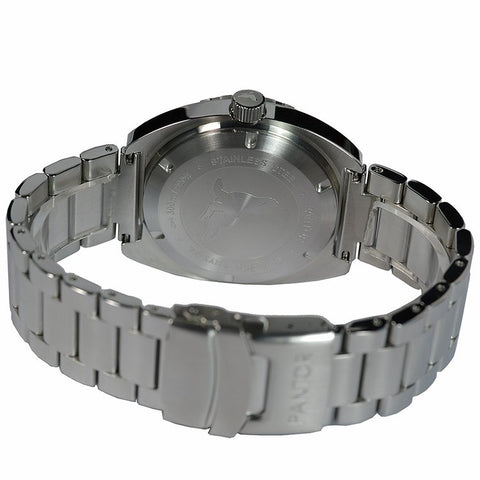 Image of Pantor Sea Lion Black Dial Stainless Steel Professional Dive Watch