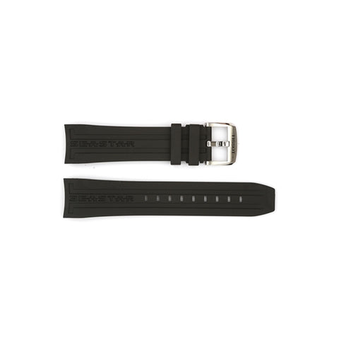 Tissot Replacement Black Silicone Watch Strap T603031453